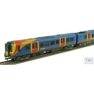 31-040 Bachmann OO Gauge Class 450 4 Car EMU 450073 South West Trains Weathered by TMC