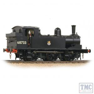 31-061 Bachmann OO Gauge LNER J72 Tank 68733 BR Black (Early Emblem)