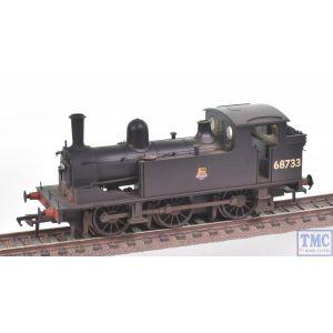 31-061 Bachmann OO Gauge LNER J72 Tank 68733 BR Black (Early Emblem)