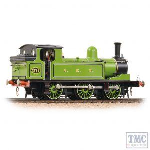 31-063 Bachmann OO Gauge NER E1 Tank 2173 NER Lined Green
