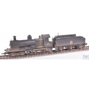 31-086A Bachmann OO Gauge GWR 32XX 'Earl' 9018 BR Black (Early Emblem)  - Weathered