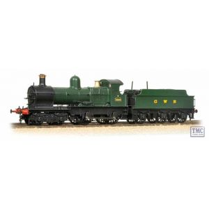 31-785 Branchline OO Gauge GWR 'Modified Hall' 6990 'Witherslack Hall' BR Lined Green (Early Em.)