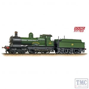 31-090DS Bachmann OO Gauge GWR 32XX 'Earl' 3206 'Earl of Plymouth' GWR Green (Shirtbutton) - Sound Fitted