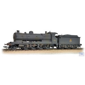 31-128 Bachmann OO Gauge 3000 Class (ROD) 2-8-0 3036 BR Black Early Emblem-Weathered