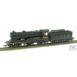 31-137A Bachmann OO Gauge Class D11/2 4-4-0 6401 James Fitzjames LNER Black Real Coal & Weathered by TMC