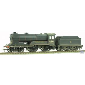 31-138 Bachmann OO Gauge Class D11/2 62682 'Haystoun of Bucklaw' BR Black E/Emblem Real Coal & Weathered by TMC