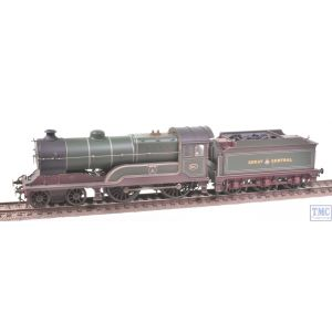 31-147 Bachmann OO Gauge Class D11/1 4-4-0 Mons 501 GCR Green Crew Parts & Plates Fitted Real Coal Weathered by TMC