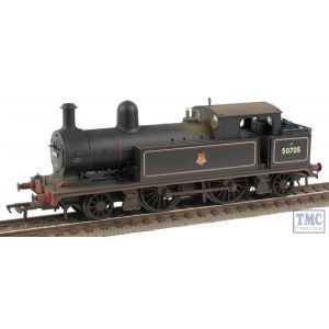 31-169 Bachmann OO/HO Gauge L&YR 2-4-2 Tank 50705 BR Lined Black E/Emblem Real Coal & Weathered by TMC