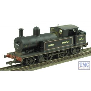 31-170 Bachmann OO/HO Gauge L&YR 2-4-2 Tank 50764 British Railways Lined Black Real Coal & Weathered by TMC