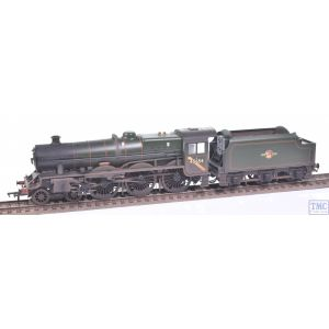 31-186ASF Bachmann OO Gauge LMS 5XP 'Jubilee' with Riveted Tender 45654 'Hood' BR Lined Green (Late Crest) - Sound Fitted