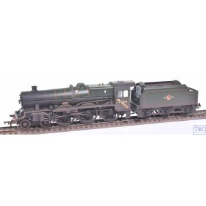 31-186A Bachmann OO Gauge LMS 5XP 'Jubilee' with Riveted Tender 45654 'Hood' BR Lined Green (Late Crest)