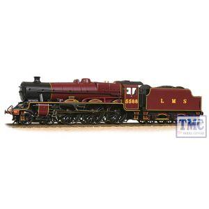 31-187DS Bachmann OO Gauge Jubilee 5588 'Kashmir' LMS Crimson (Welded Stanier tender) - DCC Sound