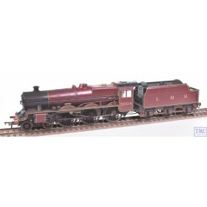 31-187 Bachmann OO Gauge Jubilee 5664 Nelson LMS Crimson (Stanier Tender) Nameplates Fitted Real Coal & Glossy Weathering by TMC