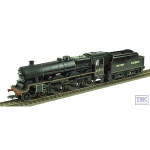 31-190 Bachmann OO Gauge Jubilee 45575 'Madras' BR Lined Black British Railways Real Coal Nameplates Glossed & Weathered by TMC