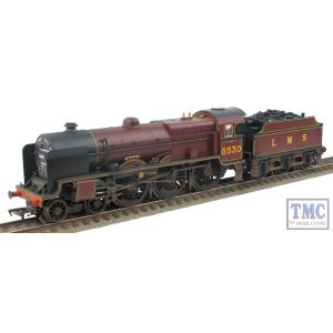 31-204 Bachmann OO/HO Patriot 5530 'Sir Frank Ree' LMS Crimson Nameplates fitted Real Coal & Weathered by TMC (Pre-owned)