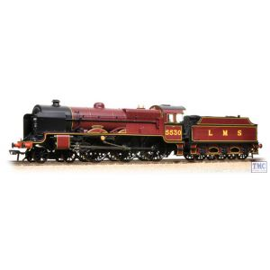 31-204 Bachmann OO Gauge LMS Patriot Class 5530 'Sir Frank Ree' LMS Crimson