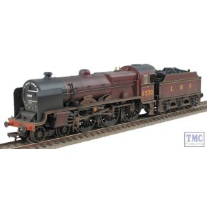 31-204 Bachmann OO Gauge LMS Patriot Class 5530 'Sir Frank Ree' LMS Crimson Real Coal & Weathered by TMC