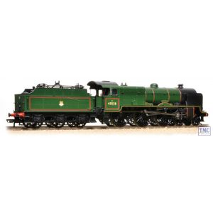 31-214 Bachmann OO Gauge LMS Patriot Class 45538 'Giggleswick' BR Lined Green E/Emble