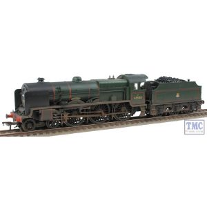 31-214 Bachmann OO/HO Patriot Class 45538 'Giggleswick' BR Lined Green E/Emblem Real Coal & Weathered by TMC