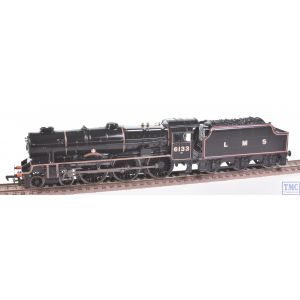 31-226 Bachmann OO Gauge 4-6-0 6133 The Green Howards LMS Black Crew Coal & High Gloss Finish by TMC (Pre-owned)