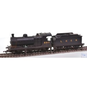 31-318 Bachmann Robinson Class J11 5317 LNER Black with Real Coal & Weathered By TMC