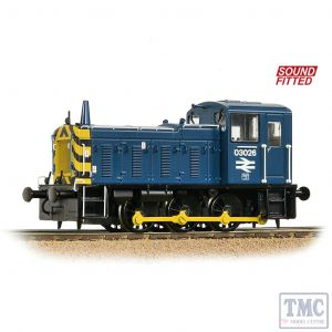 31-368DS Bachmann OO Gauge Class 03 03026 BR Blue - Sound Fitted