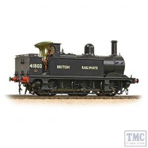 31-434 Bachmann OO Gauge MR 1F Tank Open Cab 41803 BR Black (British Railways)