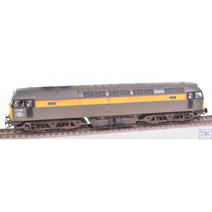 31-661DS Bachmann OO Gauge Class 47/3 47346 BR Engineers Grey & Yellow - Sound Fitted