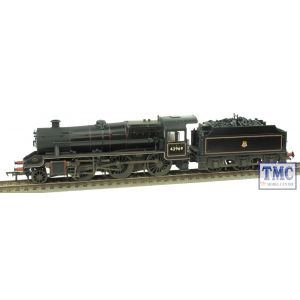 31-691 Bachmann OO Gauge LMS Stanier Mogul 42969 BR Lined Black E/Emb Real Coal Glossed & then Weathered by TMC