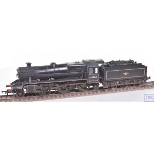 31-692 Bachmann OO LMS Stanier Mogul 42968 BR Lined Black L/Crest (Preserved) Real Coal Glossy/Extra Detail Weathering by TMC