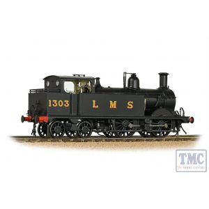 31-741 Bachmann OO Gauge MR 1532 (1P) Tank 1303 LMS Black (Original)