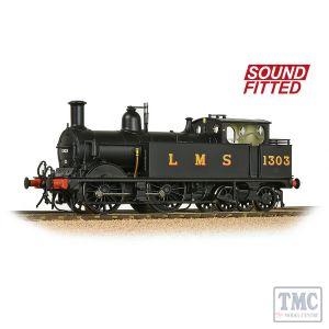 31-741SF Bachmann OO Scale MR 1532 (1P) Tank 1303 LMS Black (Original)