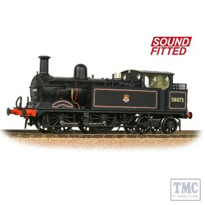 31-742SF Bachmann OO Scale MR 1532 (1P) Tank 58072 BR Lined Black (Early Emblem)