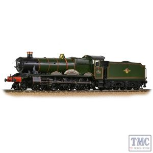 31-786 Branchline OO Gauge GWR 'Modified Hall' 6998 'Burton Agnes Hall' BR Lined Green (Late Cr.)
