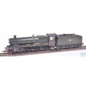 31-786 Branchline OO Gauge GWR 'Modified Hall' 6998 'Burton Agnes Hall'BR Lined Green (Late Cr.)
