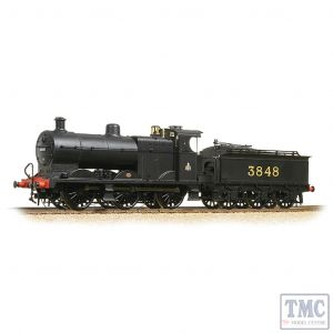 31-883 Bachmann OO Gauge MR 3835 (4F) with Johnson Tender 3848 Midland Railway Black