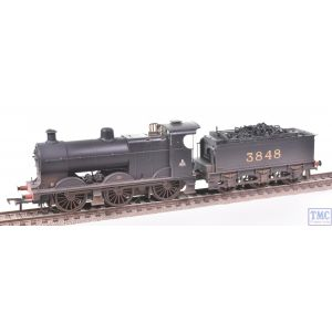 31-883 Bachmann OO Gauge MR Class 4F no.3848 (Johnson Tender) Midland Railway Black Real Coal & Deluxe Weathering by TMC
