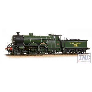 31-920 Bachmann OO Gauge H2 Class Atlantic 4-4-2 2421 'South Foreland' SR Olive Green