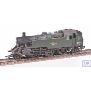 31-980 Bachmann OO Gauge BR Standard Class 3MT Tank 82020 BR Green L/Crest Real Coal & Weathered by TMC