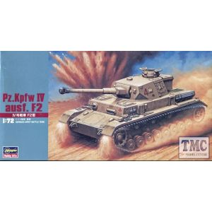 Hasegawa Panzer  1:72 IV Ausf. F2 Kit No 31142 (Pre owned)