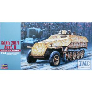 Hasegawa Sd.Kfz. 251/1 Ausf. D Kit No 31144 (Pre owned)