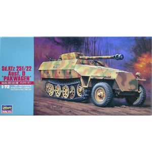 Hasegawa 1:72 Sd.Kfz. 251/22 Ausf. D Kit No 31145 (Pre owned)