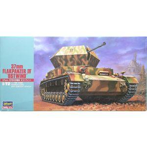 "Hasegawa 1:72 37mm Flakpanzer IV ""Ostwind"" German Army Anti-Aircraft Vehicle Kit No 31147 (Pre owned)"