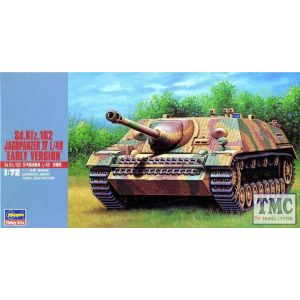 """Hasegawa 1:72 Jagdpanzer IV L/48  """"Early version"""" Kit No 31149 1:72 Scale (Pre owned)"""