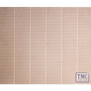 312 Ratio Corrugated Sheet N Gauge Plastic Kit