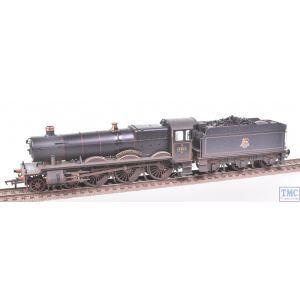 32-002A Bachmann OO Gauge GWR 49XX Stanway Hall 4971 BR Lined Black E/Emb Real Coal Plates Fitted & Weathered by TMC