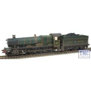 32-004 Bachmann OO/HO Hall Class 4970 'Sketty Hall' GW Green Real Coal Weathered by TMC (Pre-owned)