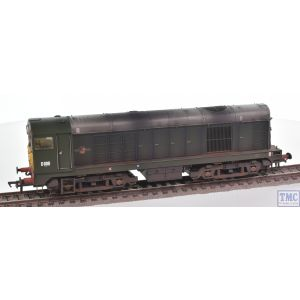 32-027B Bachmann OO Gauge Class 20/0 Disc Headcode D8011 BR Green (Small Yellow Panels)