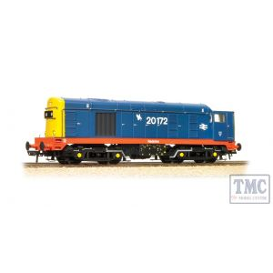32-035K Bachmann OO Gauge Class 20 20172 Redmire BR Blue With Red Solebar DCC Fitted Collectors Club (Pre-Owned)