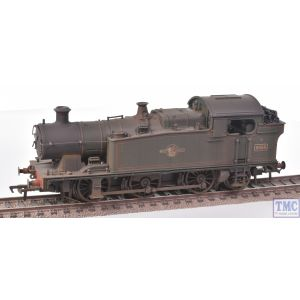 32-083A Bachmann OO Gauge GWR 56XX Tank 6644 BR Green (Late Crest) - Weathered